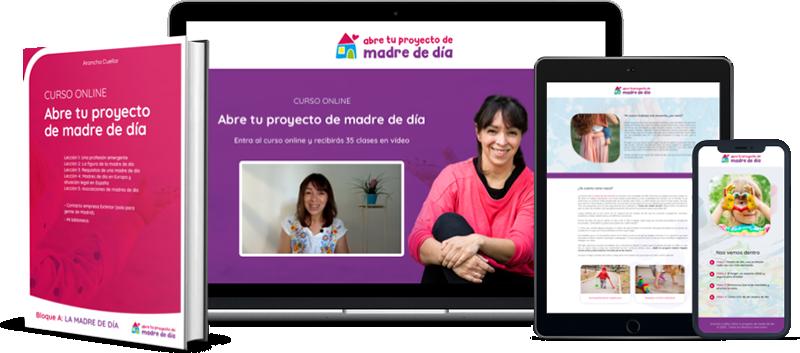 Abre tu Proyecto de Madre de Dia - Mockup Precio